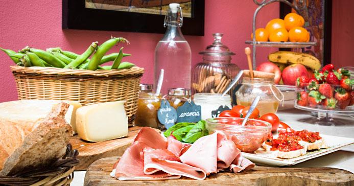 Italian Tuscany Breakfast