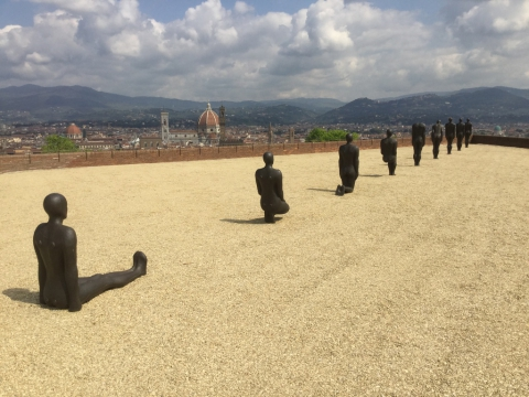 Antony Gormley Firenze