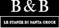 white logo Le Stanze di Santa Croce - Bed and Breackfast, Firenze