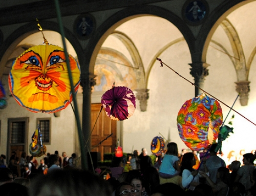 Rificolona, paper lanterns festival in Florence